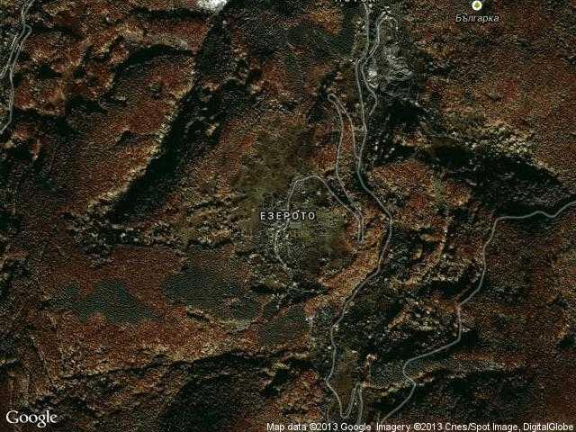 Сателитна карта на Езерото