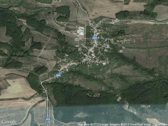 Сателитна карта на Керека