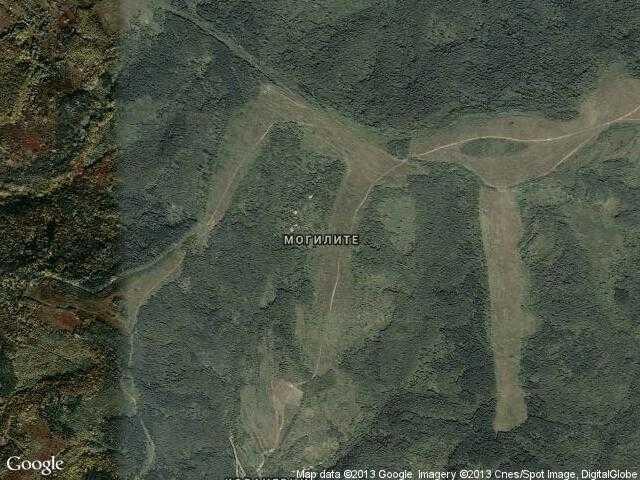 Сателитна карта на Могилите