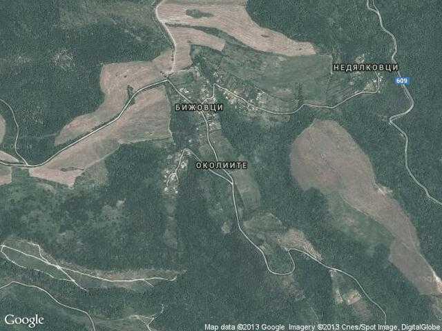 Сателитна карта на Околиите