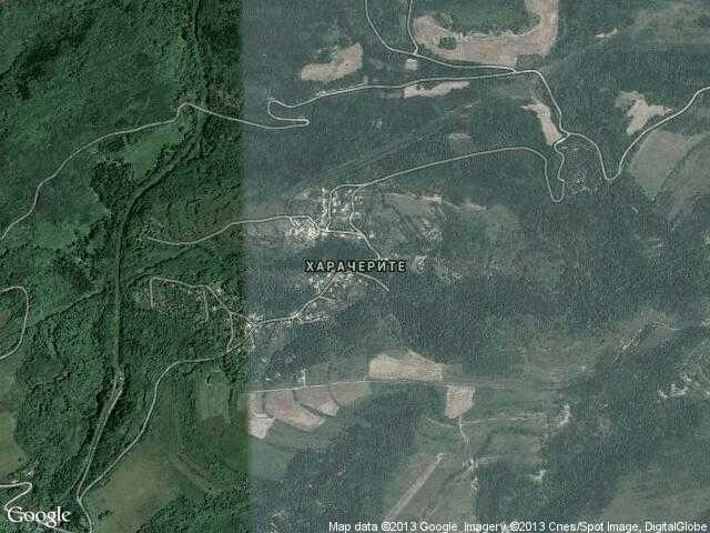 Сателитна карта на Харачерите