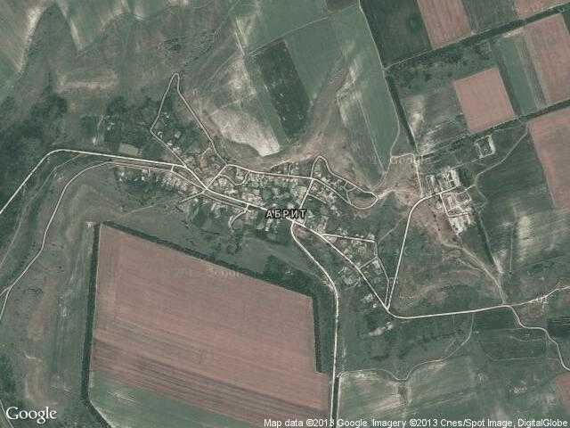 Сателитна карта на Абрит