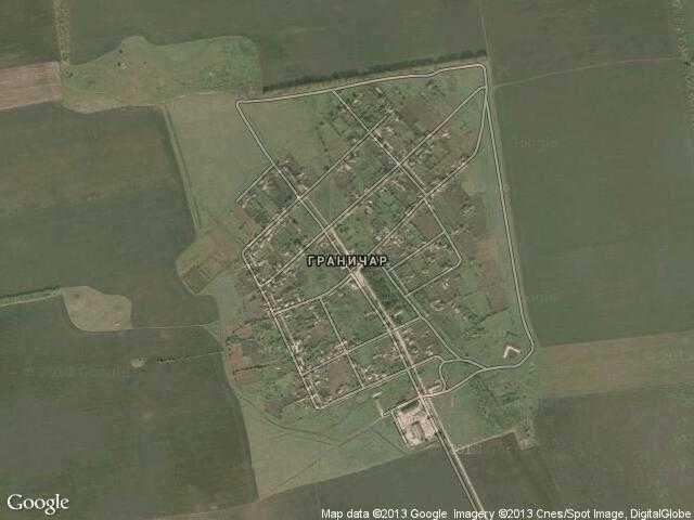 Сателитна карта на Граничар