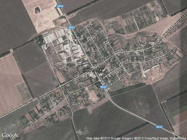 Сателитна карта на Дропла
