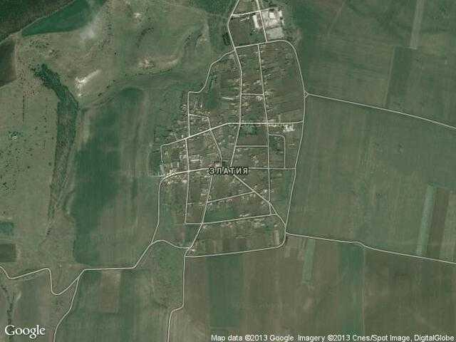 Сателитна карта на Златия