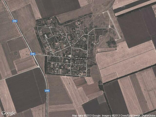 Сателитна карта на Могилище