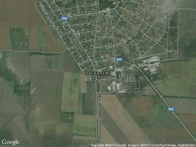 Сателитна карта на Паскалево