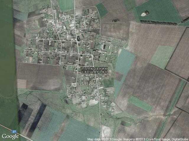 Сателитна карта на Полковник Свещарово