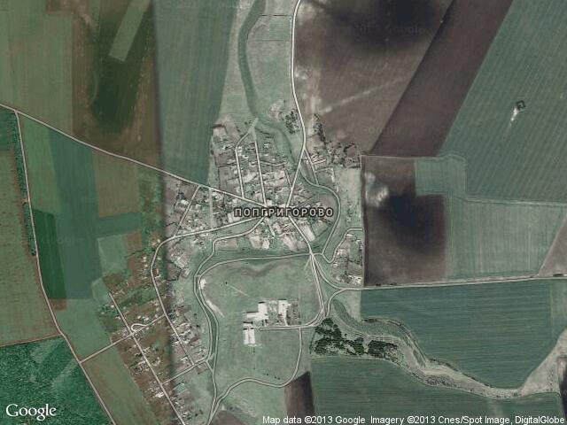 Сателитна карта на Попгригорово
