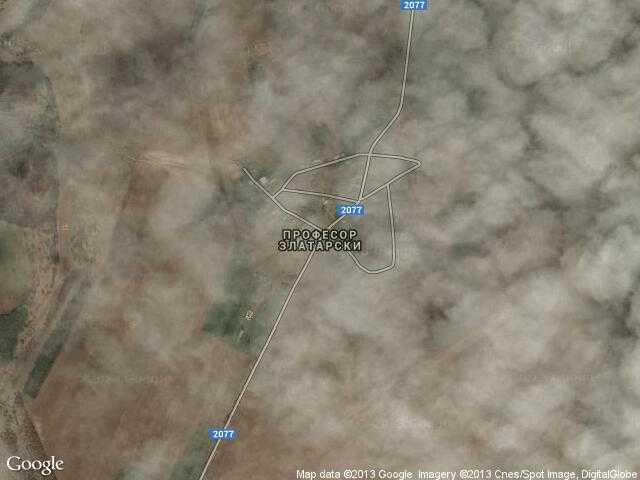 Сателитна карта на Професор Златарски