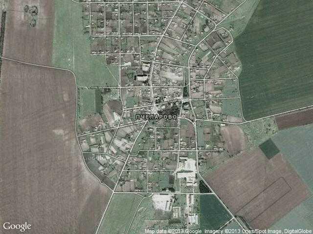 Сателитна карта на Пчеларово