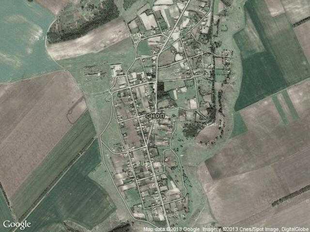 Сателитна карта на Сноп