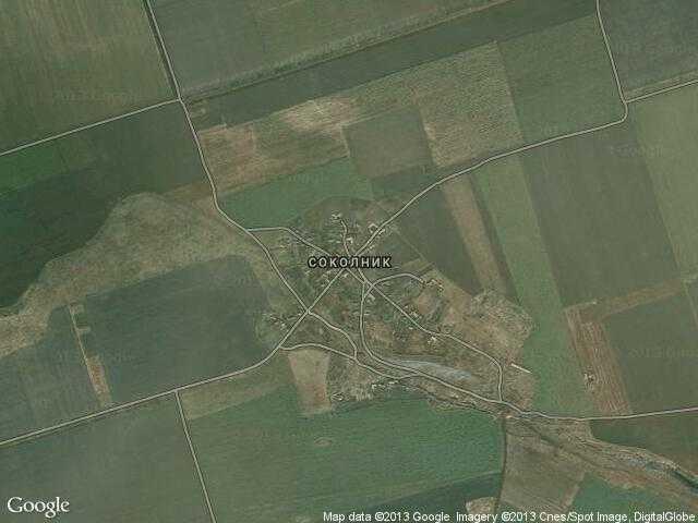 Сателитна карта на Соколник