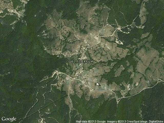 Сателитна карта на Воловарци