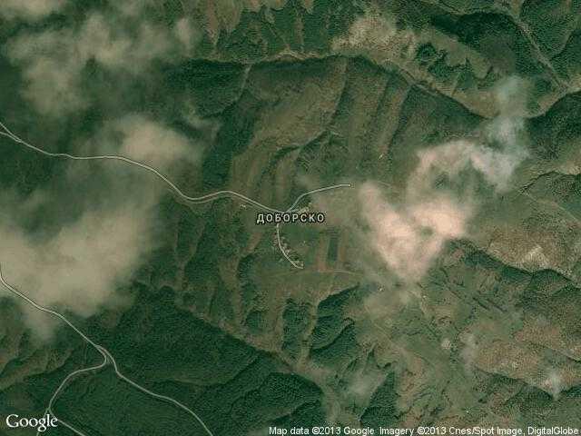 Сателитна карта на Доборско