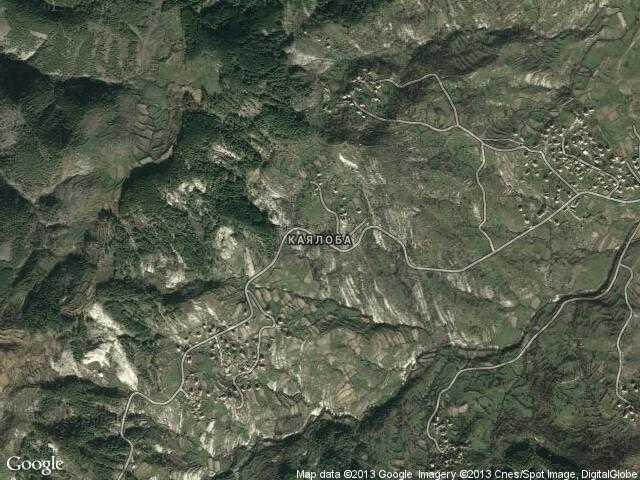 Сателитна карта на Каялоба