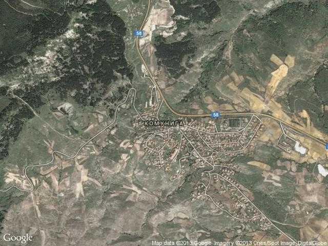 Сателитна карта на Комунига