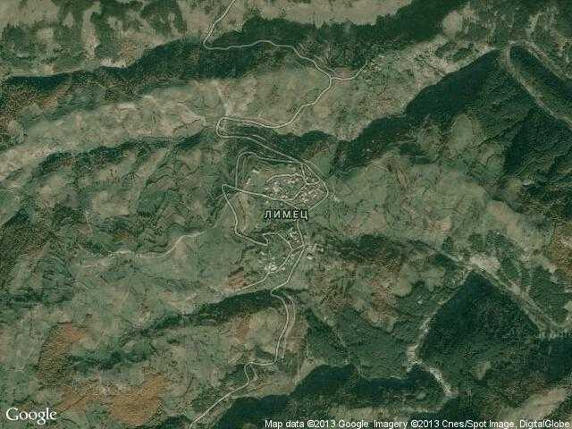 Сателитна карта на Лимец