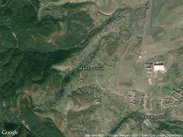 Сателитна карта на Македонци