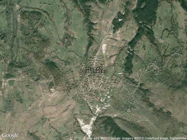 Сателитна карта на Неофит Бозвелиево