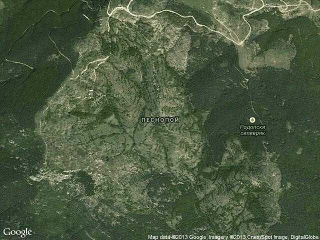 Сателитна карта на Песнопой