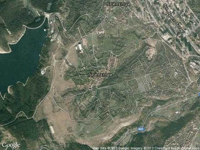 Сателитна карта на Прилепци