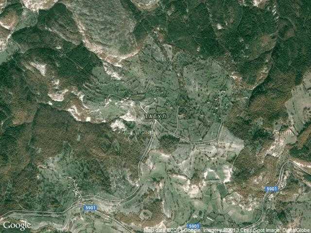 Сателитна карта на Татул