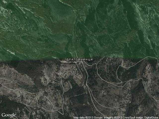 Сателитна карта на Драгойчинци