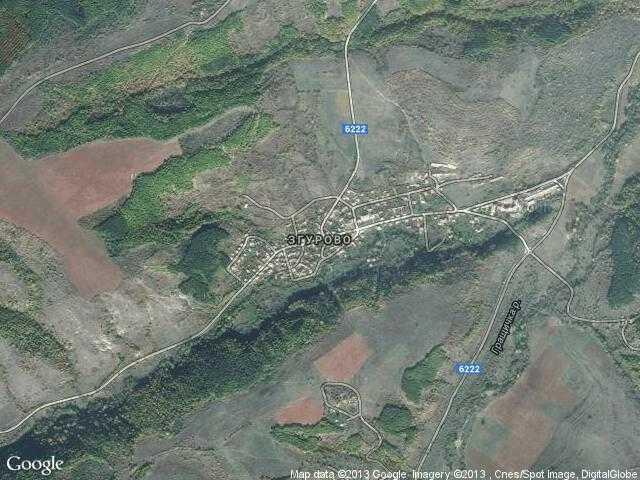 Сателитна карта на Згурово