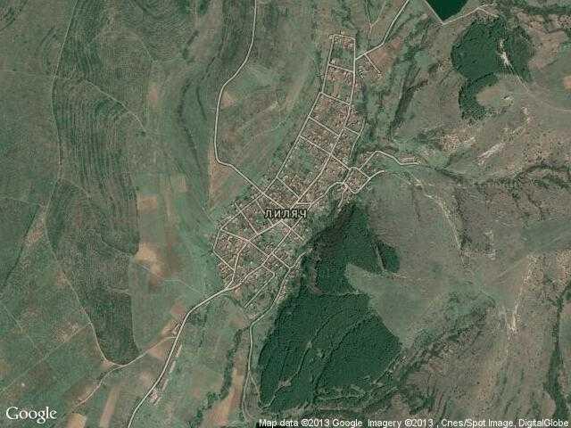 Сателитна карта на Лиляч