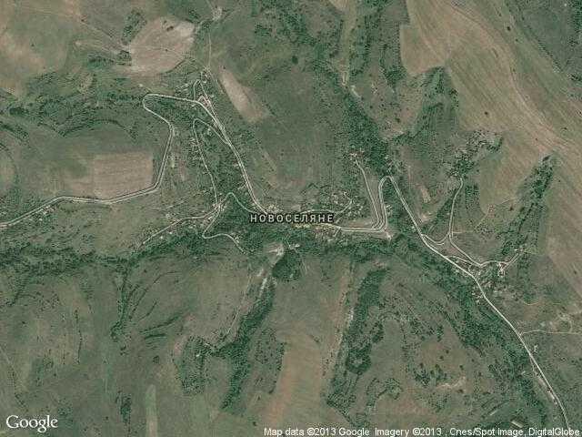 Сателитна карта на Новоселяне