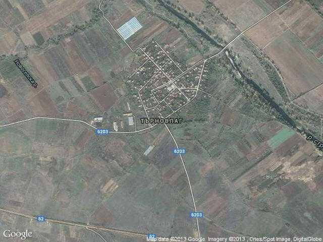 Сателитна карта на Търновлаг
