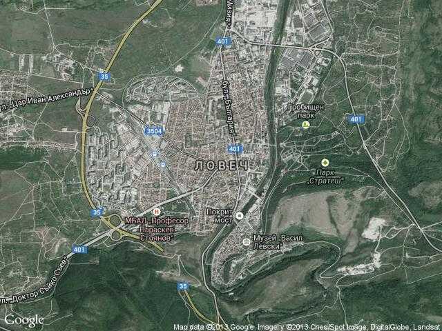 Karta 2019 Satelitna Karta Na Lovech