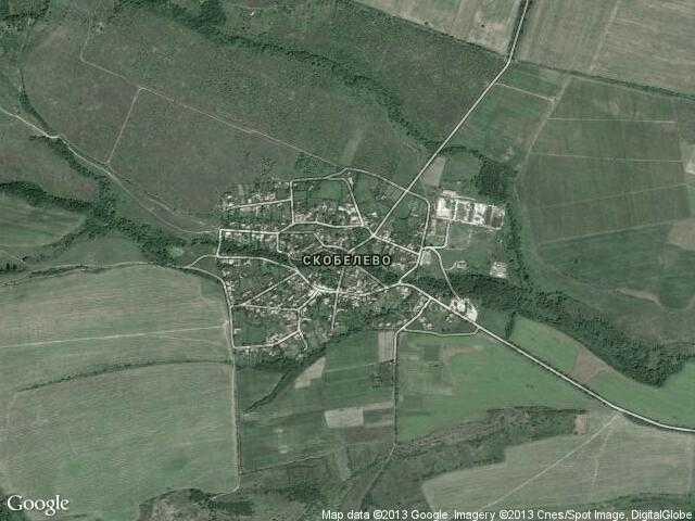 Сателитна карта на Скобелево