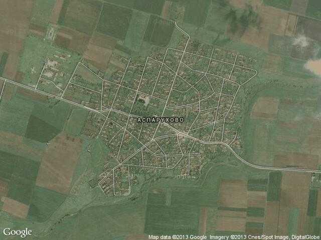 Сателитна карта на Аспарухово