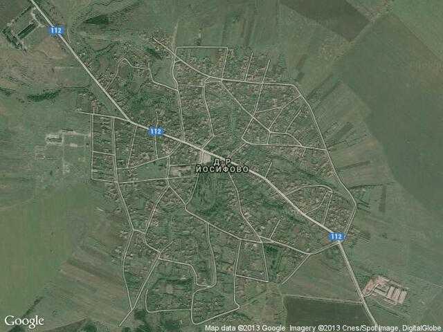 Сателитна карта на Доктор Йосифово