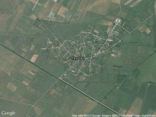 Сателитна карта на Ляхово