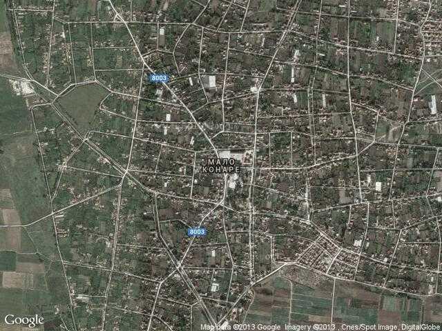 Сателитна карта на Мало Конаре