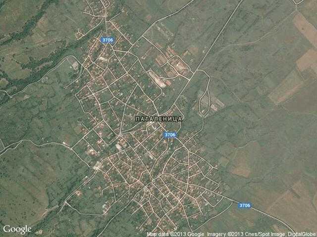 Сателитна карта на Паталеница