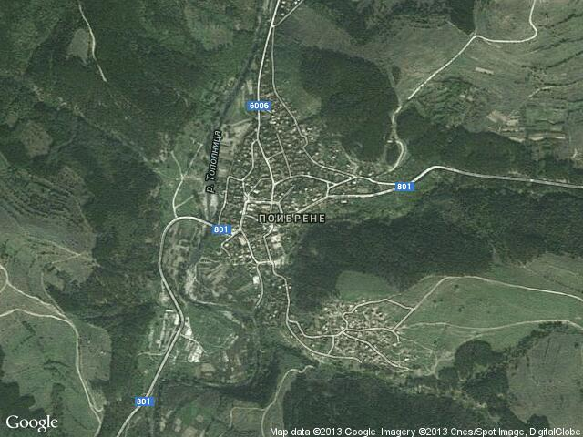 Сателитна карта на Поибрене