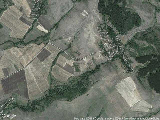 Сателитна карта на Гоз