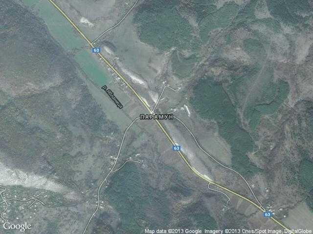 Сателитна карта на Парамун