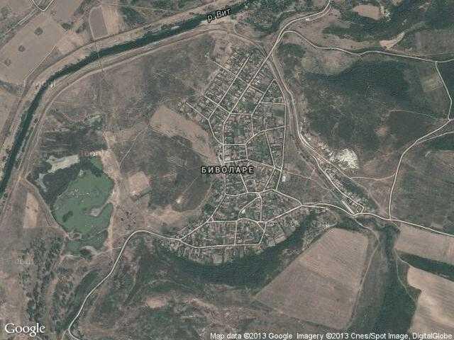 Сателитна карта на Биволаре