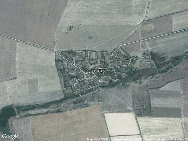 Сателитна карта на Катерица