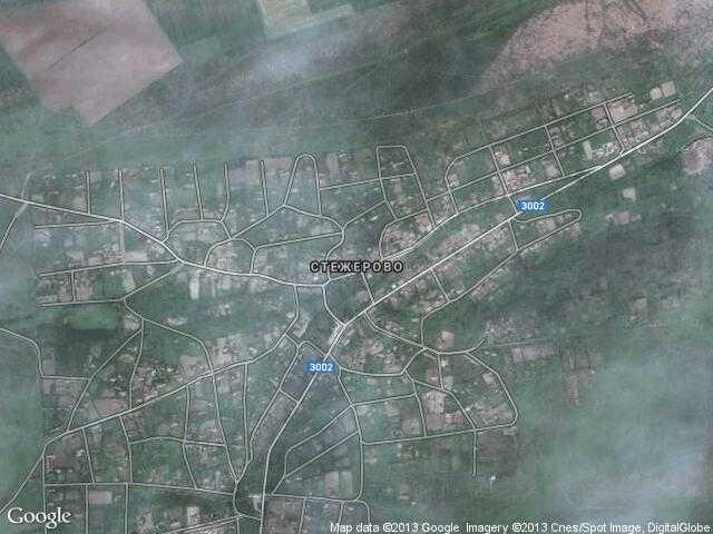 Сателитна карта на Стежерово