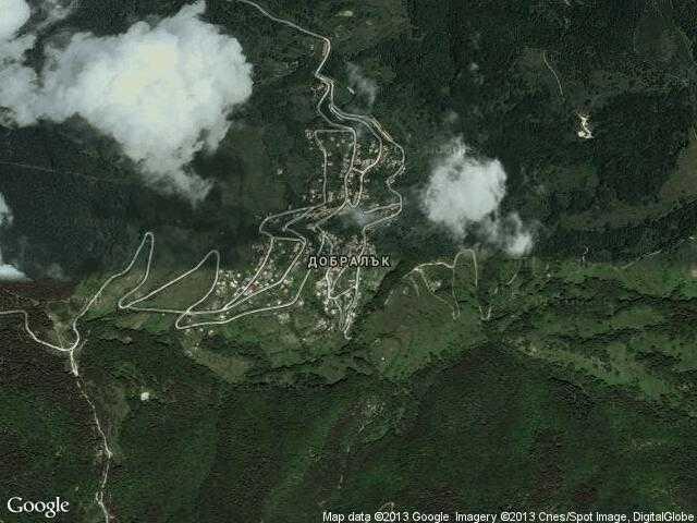 Сателитна карта на Добралък