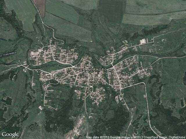 Сателитна карта на Драгойново