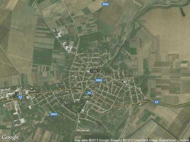 Сателитна карта на Завет