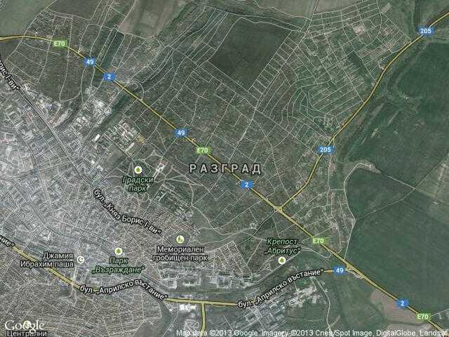 Karta 2019 Maps Razgrad
