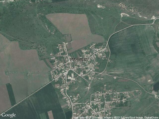Сателитна карта на Гороцвет